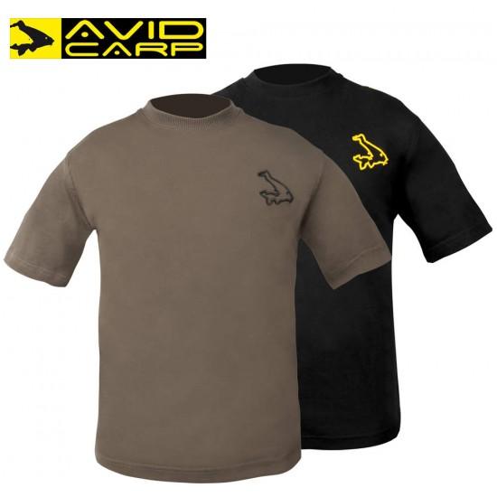 Avid Carp Black T-Shirt