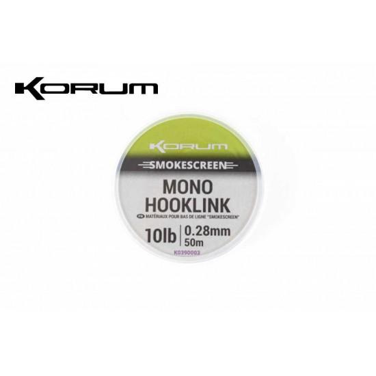 Korum Smokescreen Mono Hooklink 50m