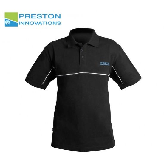 Preston DF Black Polo Shirt