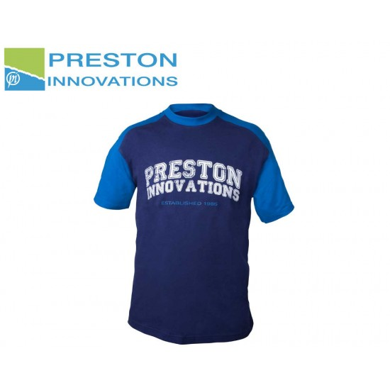 Preston Two Tone Blue T-Shirt