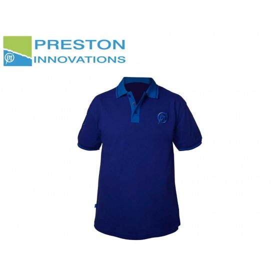 Preston Two Tone Blue Polo Shirt