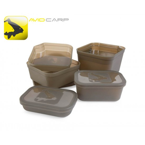 Avid Bait and Bits Tubs