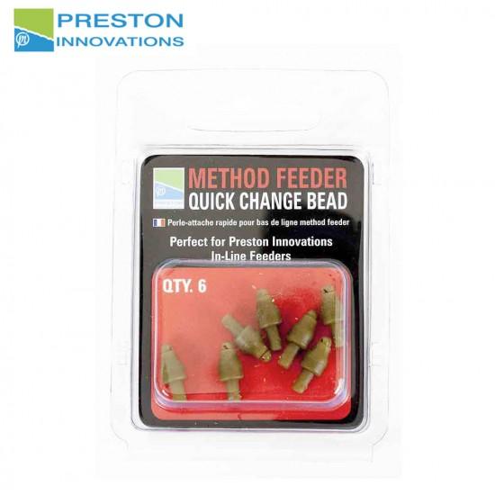 Preston Method Feeder Quick Change Bead
