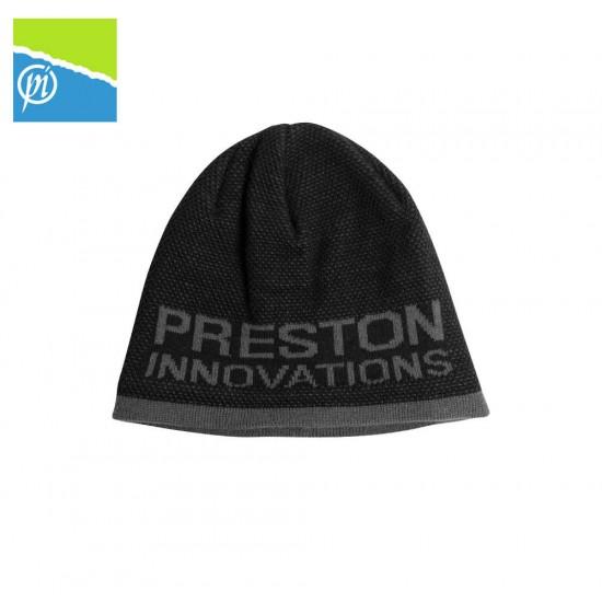Preston Black / Grey Beanie Hat