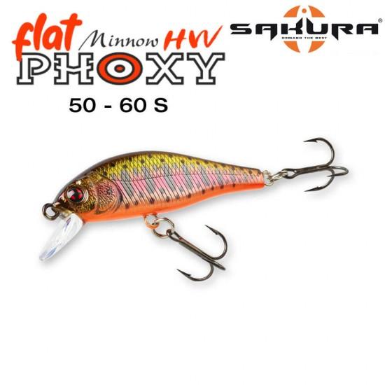 Sakura Phoxy Minnow Flat HW 60S
